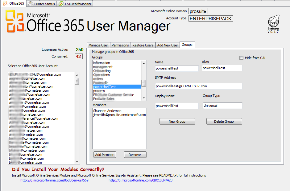 LabTech Plugin -> Office 365 UM keeps improving with new