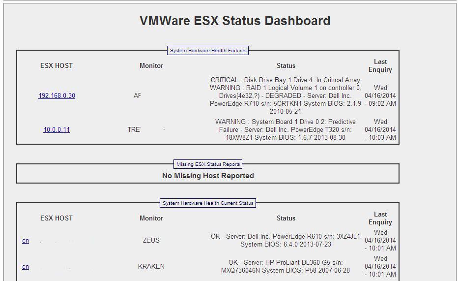 SWVDB-esx details