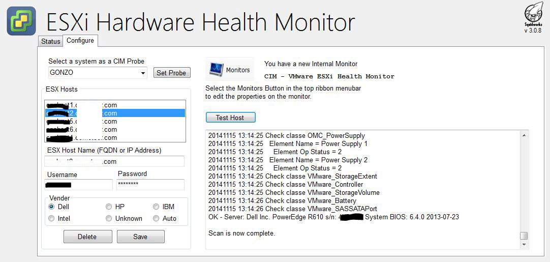 LabTech VMWare ESXi Heath Monitor Plugin v3