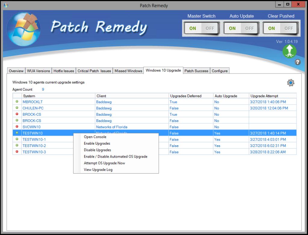 ConnectWise Automate Plugin Automates Windows 10 Upgrades